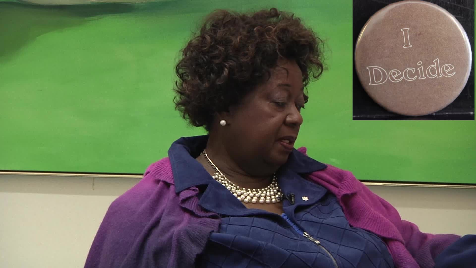 Jean Augustine interview: I decide button