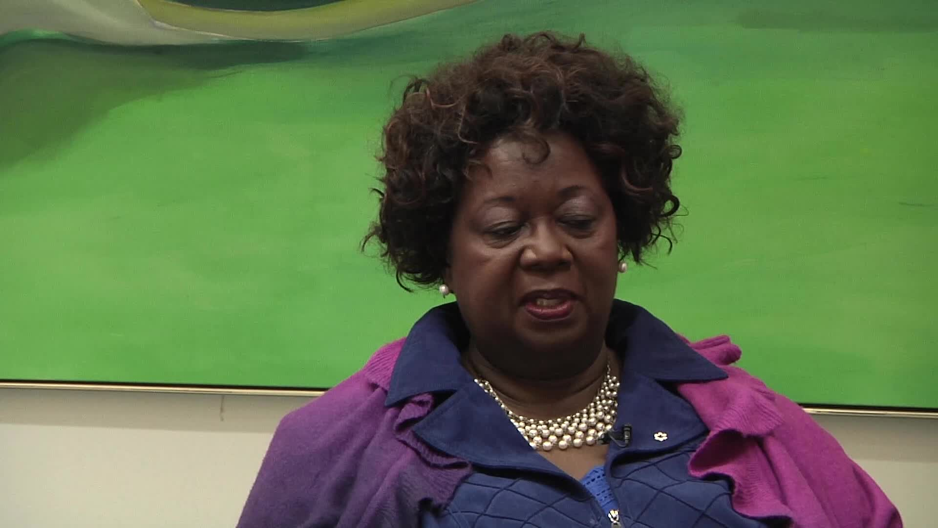 Jean Augustine interview: political buttons as a talking piece