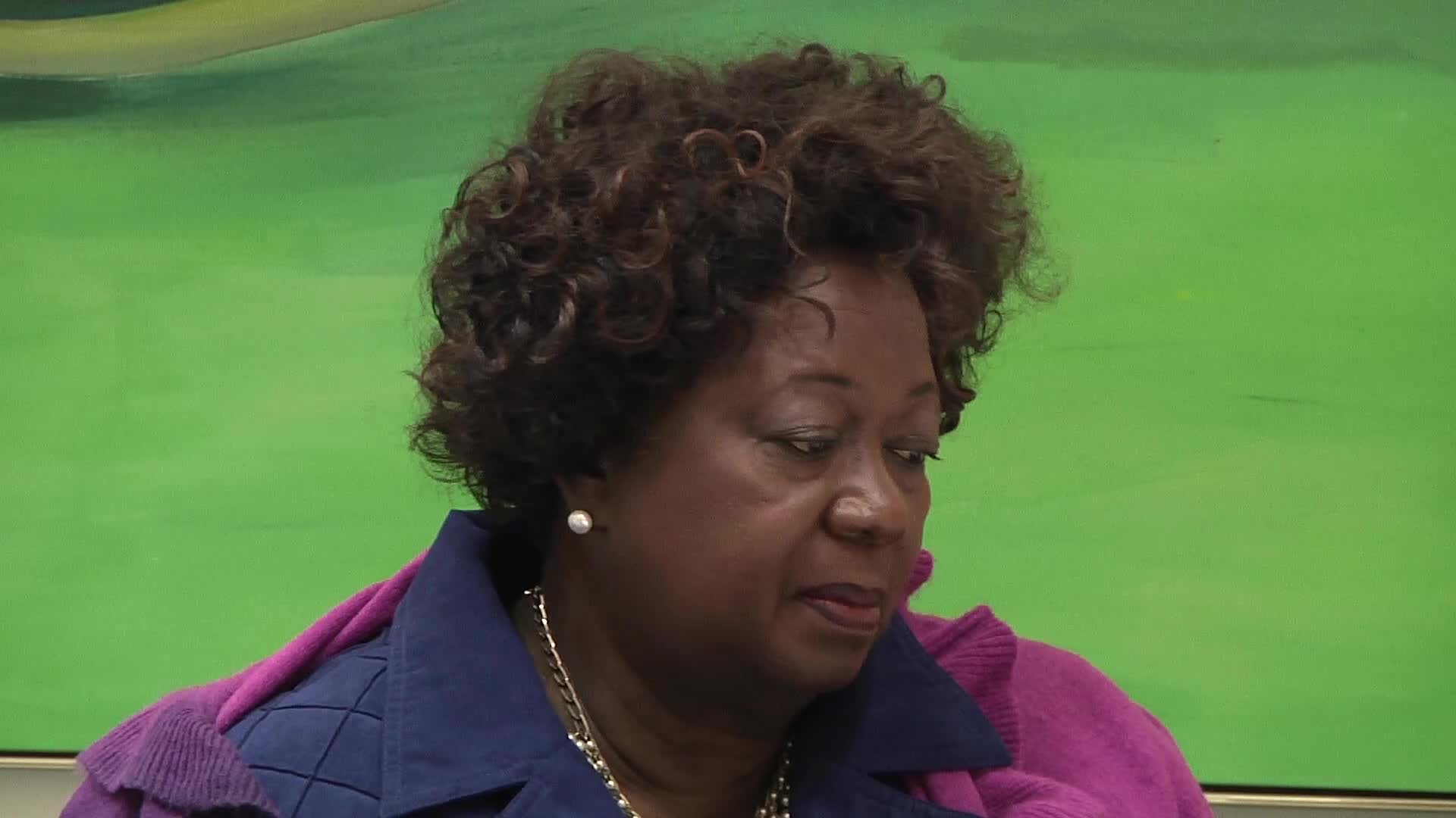 Jean Augustine interview: Jesse Jackson presidency bid buttons