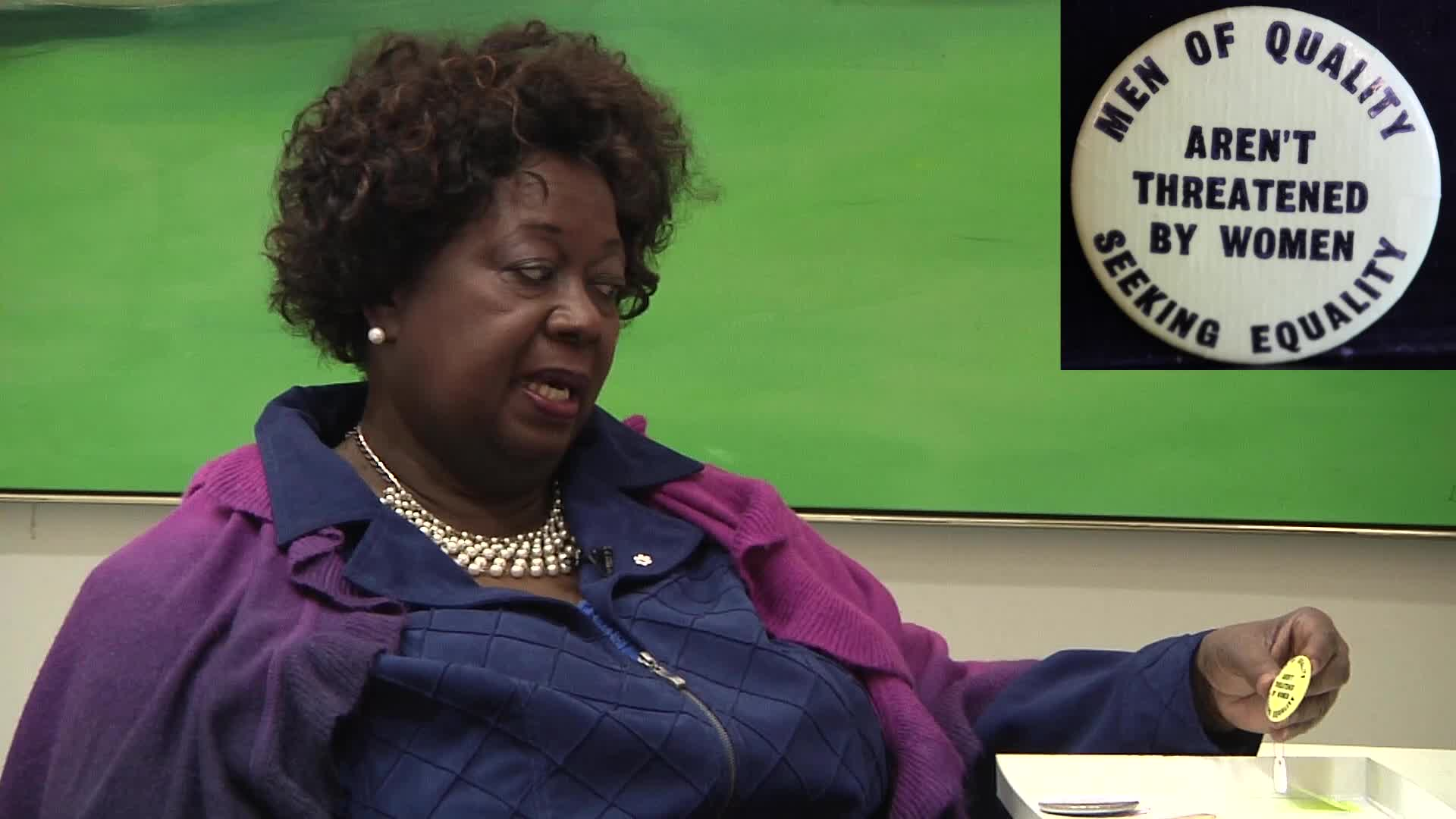 Jean Augustine interview: Men of quality aren't threatened by women seeking equality button