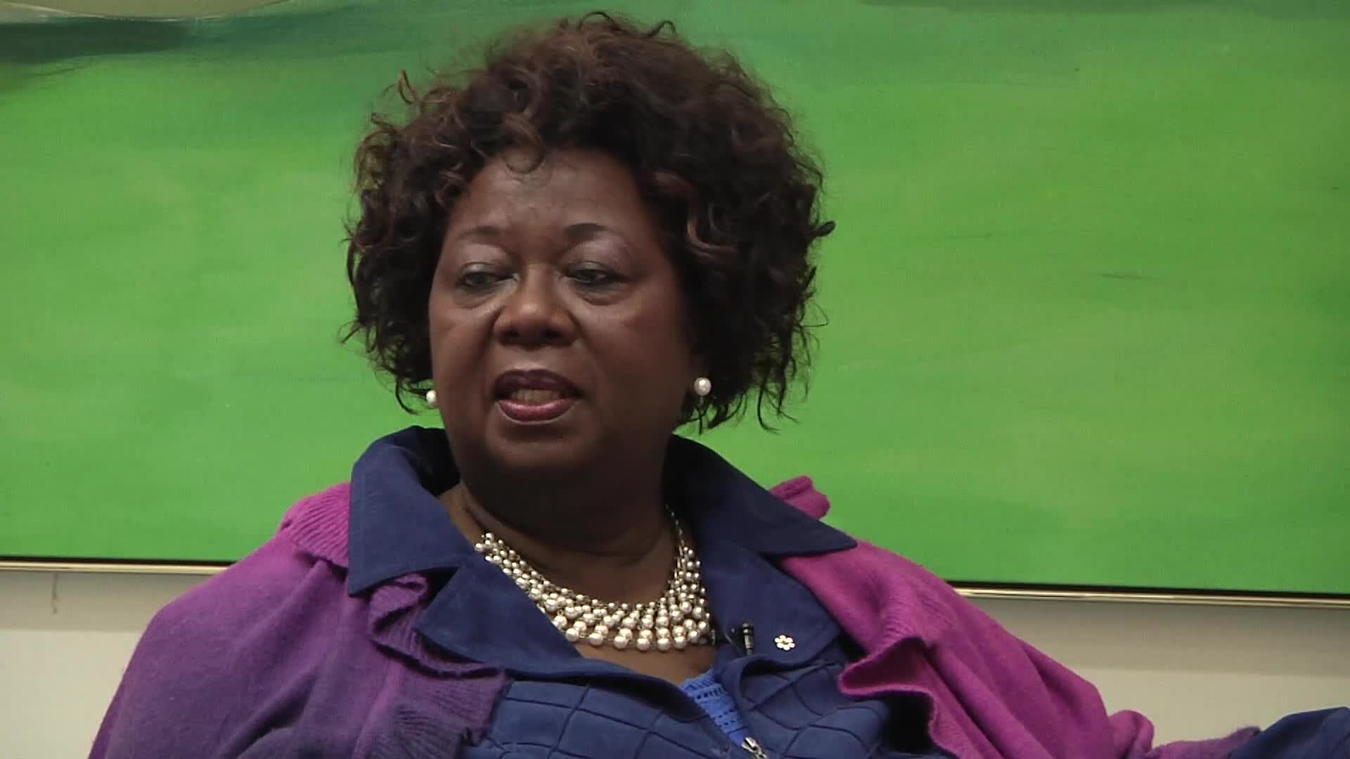 Jean Augustine interview: National Black Coalition of Canada button