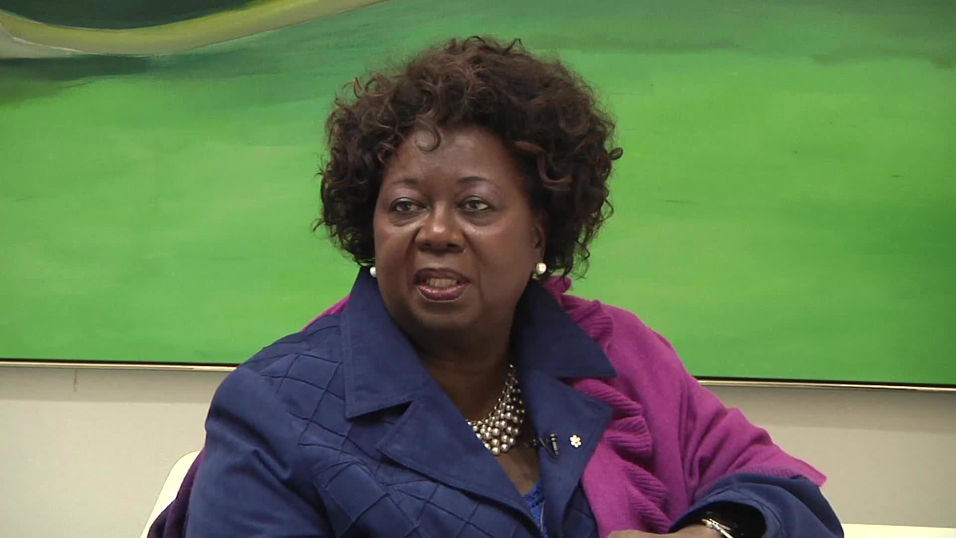 Jean Augustine interview: Political buttons and Brownies