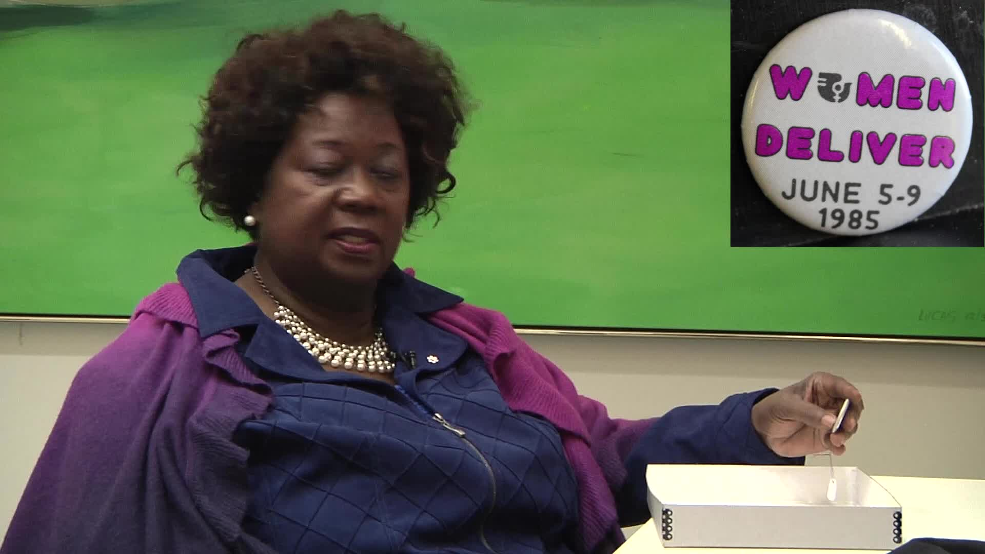 Jean Augustine interview: Women deliver button