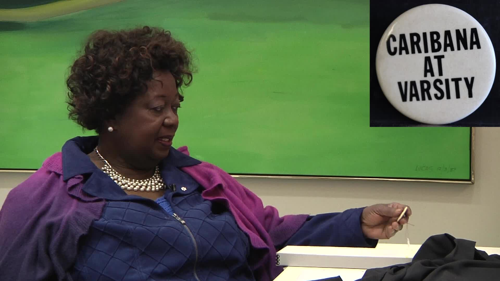 Jean Augustine interview: complete with subtitles, April 24, 2014