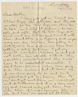 Letter to Mrs. Stepler from Gordon Stepler, May 21st 1916
