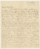 Letter to Mrs. Stepler from Gordon Stepler, June 9th 1916