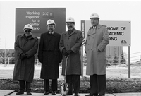 Vari Hall : Ground breaking ceremony