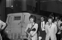 Beatles : Arrival at Malton : Reed negs