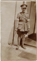 Photograph of James Allan in uniform
