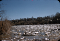 Ice going out on Assiniboine [River]