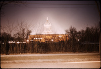 Manitoba Legislative Building at night