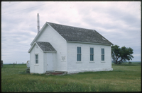 1883-built Roseland United Church near Kemnay, Manitoba
