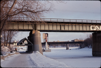 CN [Canadian National Railway Bridge] Across Assiniboine [River]