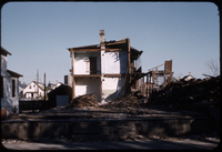 Tenement building [undergoing demolition]