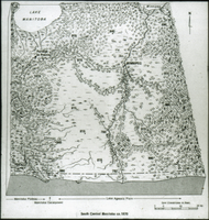 Map of south central Manitoba  - ca. 1870