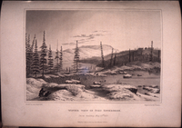 George Back - Fort Enterprise, north of Great Slave Lake 1820 [1823]