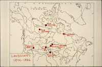 Map - Locations in 1800-1826