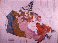 Canada Physiographic Map