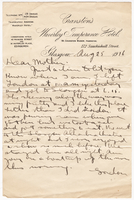 Letter to Mrs. Stepler from Gordon Stepler, August 25th 1916