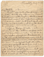 Letter to Mrs. Stepler from Gordon Stepler, August 31st 1916