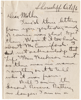 Letter to Mrs. Stepler from Gordon Stepler, October 6th 1916
