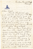 Letter to Mrs. Stepler from Gordon Stepler, November 1st 1916