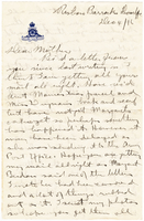 Letter to Mrs. Stepler from Gordon Stepler, December 4th 1916
