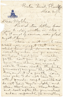 Letter to Mrs. Stepler from Gordon Stepler, December 30th 1916