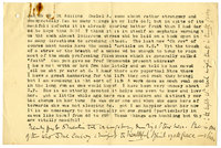 Letter to Adeline Bedford from VW 25 January 1889