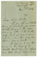 Letter to VW from Mary Everest Boole 1 May 1884