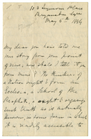 Letter to VW from Mary Everest Boole 5 May 1884