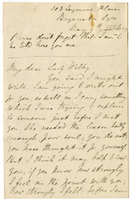 Letter to VW from Mary Everest Boole 9 May 1884