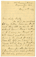 Letter to VW from Mary Everest Boole 10 May 1884