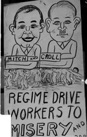 "Etobicoke : (New Toronto) : ""Discards"" : 1930's : [Unemployed and the Depression (Cartoons & signs)]"