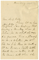 Letter to VW from Mary Everest Boole [21 July 1884?]