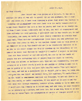 Transcription of letter to VW from Mary Everest Boole July 13