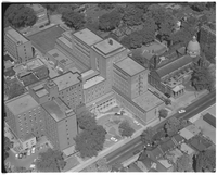 Toronto Air Views. Sherbourne Street. Ont. Cancer Institute