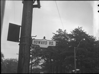 Howard Road. Sign