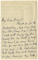 Letter to VW from Mary Everest Boole 1 July