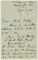 Letter to VW from Mary Everest Boole 8 December 1889