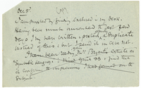 Letter to Mary Everest Boole from VW 8 December [1889?]