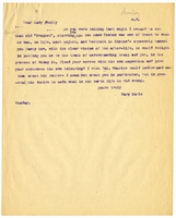 Letter to VW from Mary Everest Boole [18-?]
