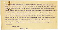 Transcription of letter to VW from Mary Everest Boole July 1