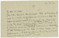 Letter to James Sully from VW 28 January 1894
