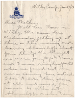 Letter to Mrs. Stepler from Gordon Stepler, January 21st 1917