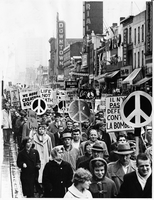 Demonstrations : Anti-War : Ban-the- Bomb