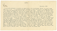 Letter to James Sully from VW 15 November 1896