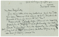 Letter to James Sully from VW 5 January 1903
