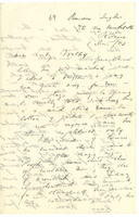 Letter to VW from James Sully 1 January 1905