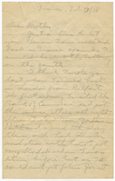 Letter to Mrs. Stepler from Gordon Stepler, February 7th 1918